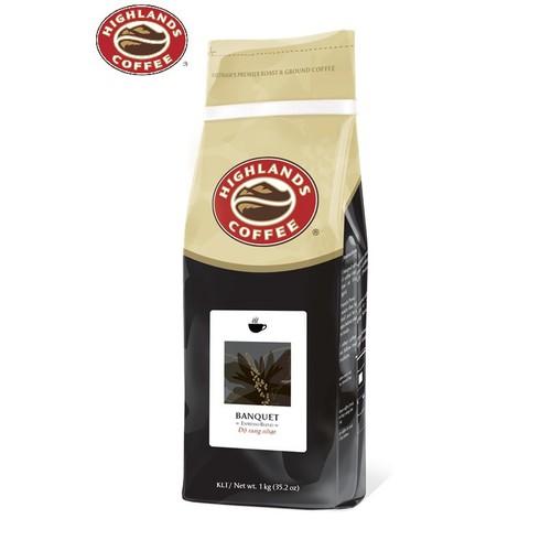 Cà phê bột Buổi sáng-Banquet Highlands Coffee 1kg