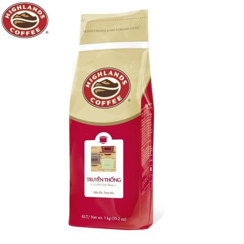 Cà phê bột Truyền thống Highlands Coffee 1kg - 6631673 , 16677880 , 15_16677880 , 219000 , Ca-phe-bot-Truyen-thong-Highlands-Coffee-1kg-15_16677880 , sendo.vn , Cà phê bột Truyền thống Highlands Coffee 1kg
