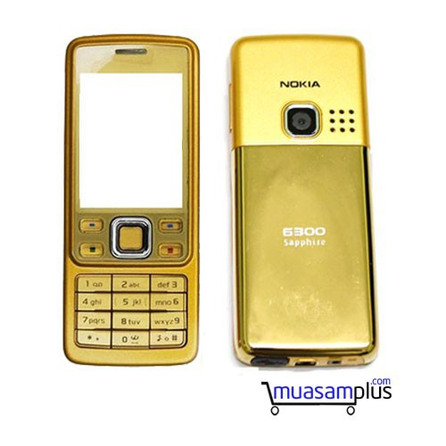 Vỏ Nokia 6300 - 4751220 , 16691228 , 15_16691228 , 200000 , Vo-Nokia-6300-15_16691228 , sendo.vn , Vỏ Nokia 6300