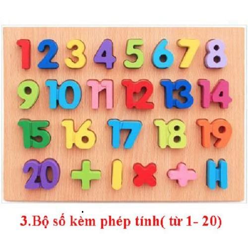 Bảng ghép hình số và phép tính bằng gỗ 3D - 6652625 , 16692633 , 15_16692633 , 85000 , Bang-ghep-hinh-so-va-phep-tinh-bang-go-3D-15_16692633 , sendo.vn , Bảng ghép hình số và phép tính bằng gỗ 3D