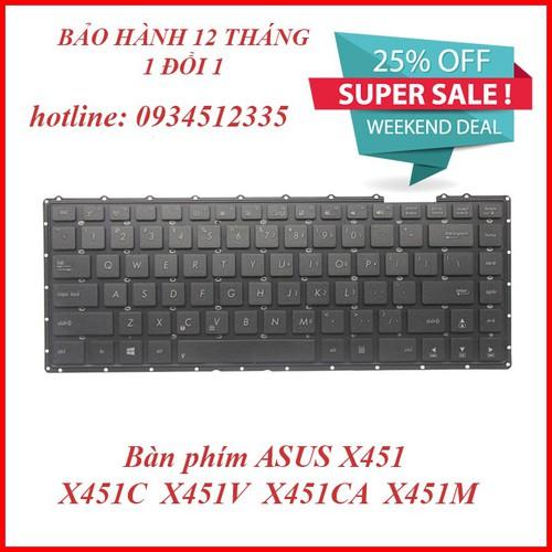 Bàn phím laptop - Bàn phím ASUS X451CA