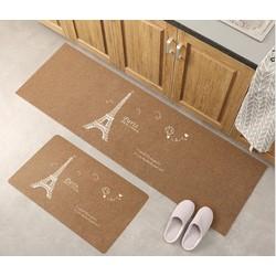 Thảm 3D nhà bếp siêu thấm- Thảm lót chân-Thảm bếp