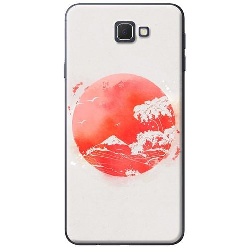 Ốp lưng nhựa dẻo Samsung. J7 Prime Mặt trăng