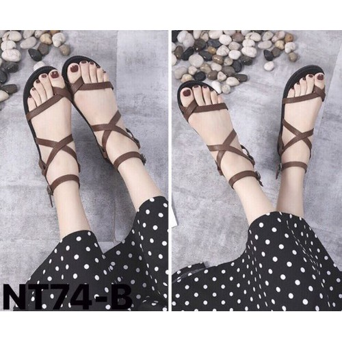 giày sandal dây chéo cực xinh