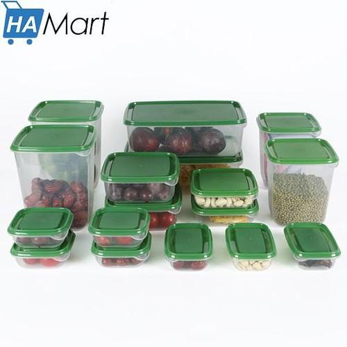 Bộ 17 hộp nhựa đựng thực phẩm bảo quản thức ăn cho tủ lạnh cao cấp GDLYA39 - 6627312 , 16675146 , 15_16675146 , 147000 , Bo-17-hop-nhua-dung-thuc-pham-bao-quan-thuc-an-cho-tu-lanh-cao-cap-GDLYA39-15_16675146 , sendo.vn , Bộ 17 hộp nhựa đựng thực phẩm bảo quản thức ăn cho tủ lạnh cao cấp GDLYA39
