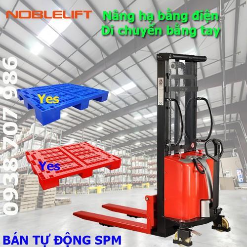 Xe nâng bán tự động - 6634486 , 16680384 , 15_16680384 , 50000000 , Xe-nang-ban-tu-dong-15_16680384 , sendo.vn , Xe nâng bán tự động
