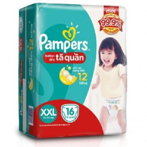 Tã bỉm Pampers Pants XXL16