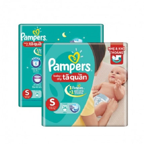Tã bỉm Pampers Pants S24
