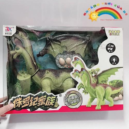 Đồ Chơi Khủng long 3 đầu Dinosaur [SHIP TOÀN QUỐC]
