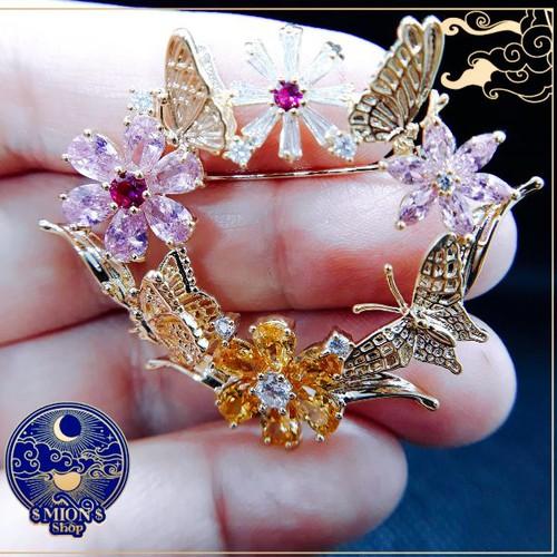 Cài áo hình hoa bướm đơn giản nữ tính - 4571081 , 16672430 , 15_16672430 , 299000 , Cai-ao-hinh-hoa-buom-don-gian-nu-tinh-15_16672430 , sendo.vn , Cài áo hình hoa bướm đơn giản nữ tính