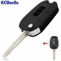 Vỏ Chìa Khoá Gập Chevrolet Captiva 3 nút
