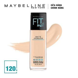 Kem Nền Mịn Lì Tự Nhiên Maybelline Fit Me - Màu 120 Classic Ivory 30ml - 175 thumbnail