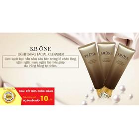 Combo kem vip đỏ-đen Kbone 50g và sữa rửa mặt kbone 100ml - 12d-2