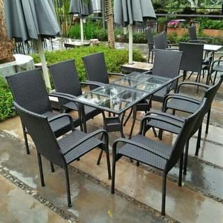 bộ bàn ghế cafe giả mây xuất khẩu mới giá sốc [ĐƯỢC KIỂM HÀNG] 16684235 - 16684235 thumbnail