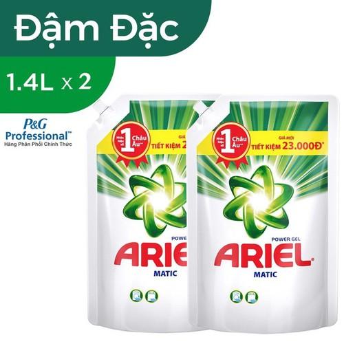Combo 2 Nước giặt Ariel Matic Đậm đặc túi 1,4 kg - 6647767 , 16688873 , 15_16688873 , 208000 , Combo-2-Nuoc-giat-Ariel-Matic-Dam-dac-tui-14-kg-15_16688873 , sendo.vn , Combo 2 Nước giặt Ariel Matic Đậm đặc túi 1,4 kg