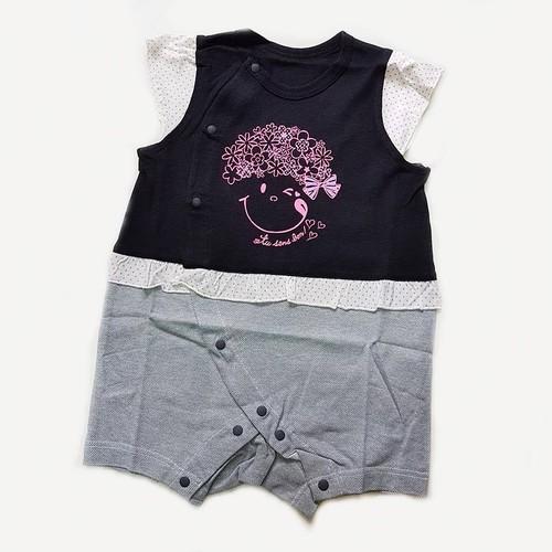 Bodysuit bé gái Elfindoll đen size 60-70
