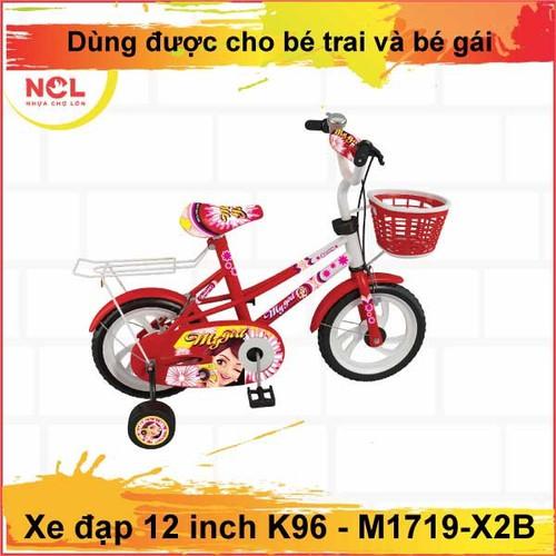 Xe đạp 12 inch K96 Nhựa Chợ Lớn - M1719-X2B