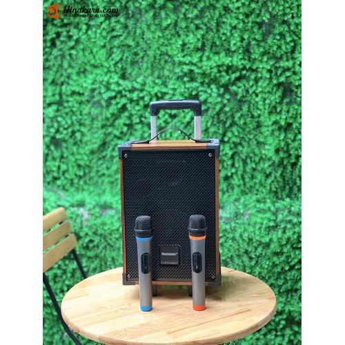 Loa Kéo Di Động Temeisheng A8-42. Nhựa ABS -Công Suất Thực: 100W -Công Suất Đỉnh: PMPO 250W