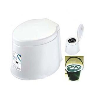 Ghế Bô Bệ Toilet Vệ Sinh Di Động Bằng Nhựa Trắng - BÔ BỆT thumbnail