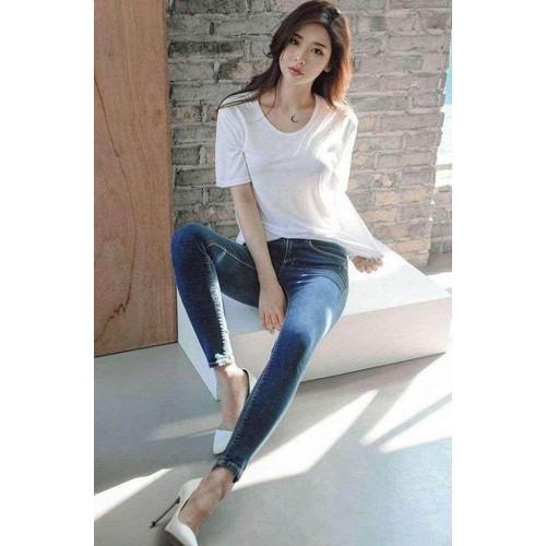 quần jean nữ simple có size lớn