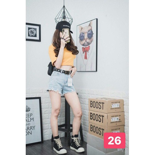 Quần Short Jean Nữ hot trend - 6657681 , 16696937 , 15_16696937 , 105000 , Quan-Short-Jean-Nu-hot-trend-15_16696937 , sendo.vn , Quần Short Jean Nữ hot trend