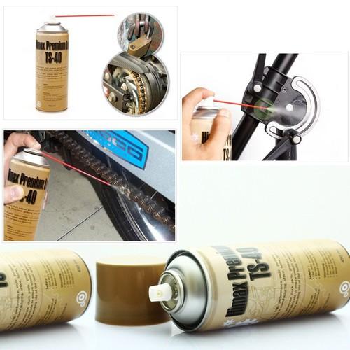 Chai xịt vệ sinh sên, bôi trơn, chống rỉ đa năng TS-40 450ml. - 6664749 , 16701855 , 15_16701855 , 67000 , Chai-xit-ve-sinh-sen-boi-tron-chong-ri-da-nang-TS-40-450ml.-15_16701855 , sendo.vn , Chai xịt vệ sinh sên, bôi trơn, chống rỉ đa năng TS-40 450ml.