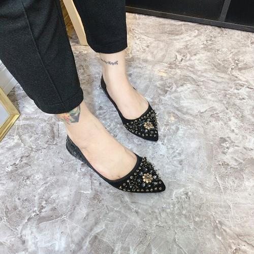 Giày búp bê đính đá cao cấp