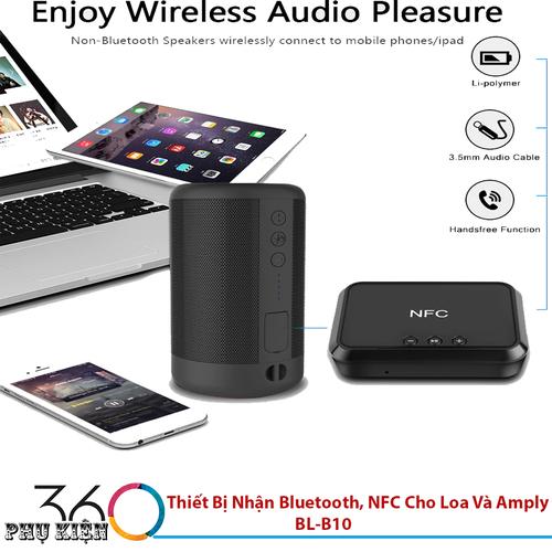 Thiết Bị Nhận Bluetooth, NFC Cho Loa Và Amply BL-B10 - 6670081 , 16705471 , 15_16705471 , 479000 , Thiet-Bi-Nhan-Bluetooth-NFC-Cho-Loa-Va-Amply-BL-B10-15_16705471 , sendo.vn , Thiết Bị Nhận Bluetooth, NFC Cho Loa Và Amply BL-B10