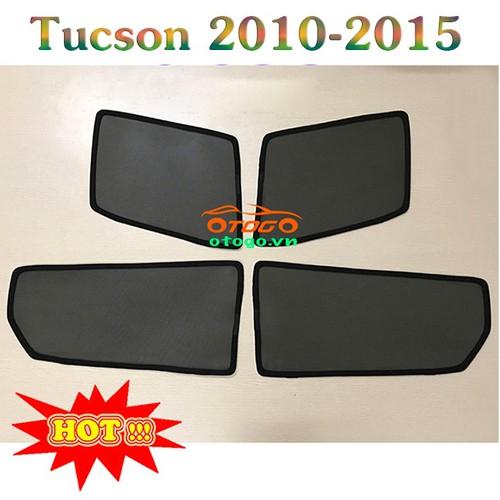 Rèm Che Nắng Kính Ô Tô Theo Xe - Hyundai Tucson 2010 - 2015