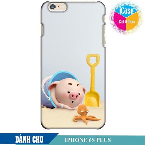 Ốp lưng nhựa cứng nhám dành cho iPhone 6S Plus in hình Heo Con Nghịch Cát - 6673610 , 16708153 , 15_16708153 , 99000 , Op-lung-nhua-cung-nham-danh-cho-iPhone-6S-Plus-in-hinh-Heo-Con-Nghich-Cat-15_16708153 , sendo.vn , Ốp lưng nhựa cứng nhám dành cho iPhone 6S Plus in hình Heo Con Nghịch Cát