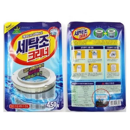 Gói bột tẩy vệ sinh lồng máy giặt 450g Korea - 6692210 , 16722285 , 15_16722285 , 45000 , Goi-bot-tay-ve-sinh-long-may-giat-450g-Korea-15_16722285 , sendo.vn , Gói bột tẩy vệ sinh lồng máy giặt 450g Korea