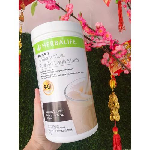 [HÀNG CHÍNH HÃNG] Sữa Giảm Cân F1 Herbalife vị BÁNH QUY & KEM - 6678606 , 16711917 , 15_16711917 , 700000 , HANG-CHINH-HANG-Sua-Giam-Can-F1-Herbalife-vi-BANH-QUY-KEM-15_16711917 , sendo.vn , [HÀNG CHÍNH HÃNG] Sữa Giảm Cân F1 Herbalife vị BÁNH QUY & KEM