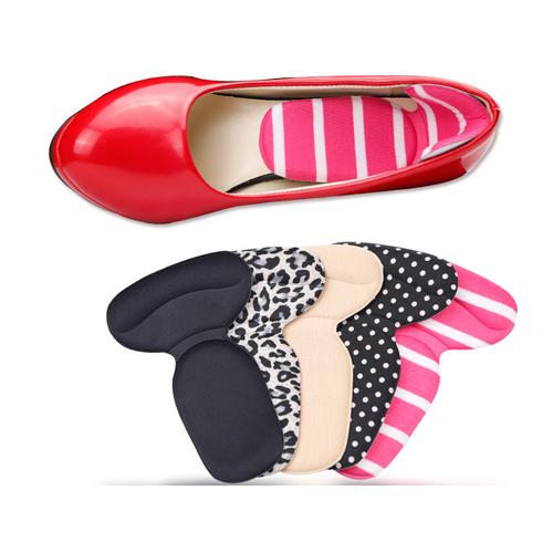 Bộ 2 đôi lót giày dán gót mouse êm chân, hút mồ hôi, free size, bộ 4 cái
