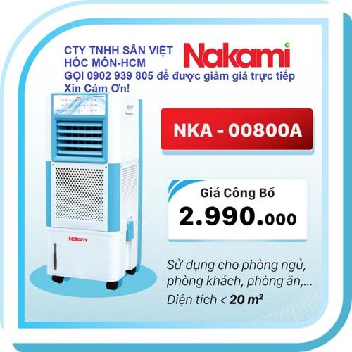 Quạt làm mát không khí Nakami DK-800A 90W 18L