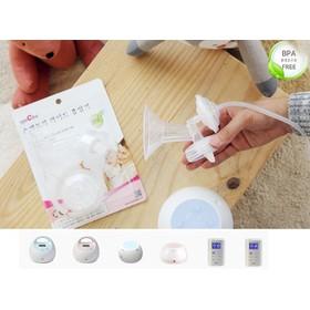 Bộ phụ kiện hút sữa cổ rộng Phụ kiện dùng kèm cho máy hút sữa điện SPECTRA 24mm - SPECTRA (Hàn Quốc) 24mm
