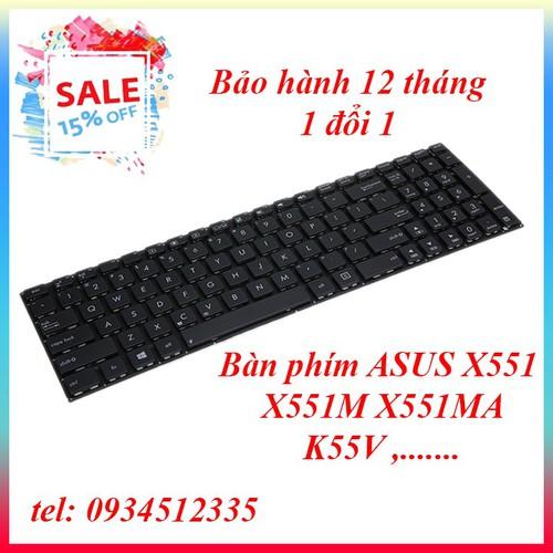 Bàn phím laptop - Bàn phím ASUS X551M