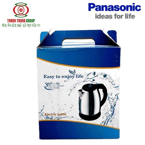 Ấm đun nước siêu tốc inox PANASONIC 1,8 lít - 4576070 , 16703214 , 15_16703214 , 120000 , Am-dun-nuoc-sieu-toc-inox-PANASONIC-18-lit-15_16703214 , sendo.vn , Ấm đun nước siêu tốc inox PANASONIC 1,8 lít