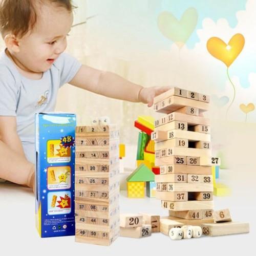 bộ đồ chơi rút gỗ số hộp lớn