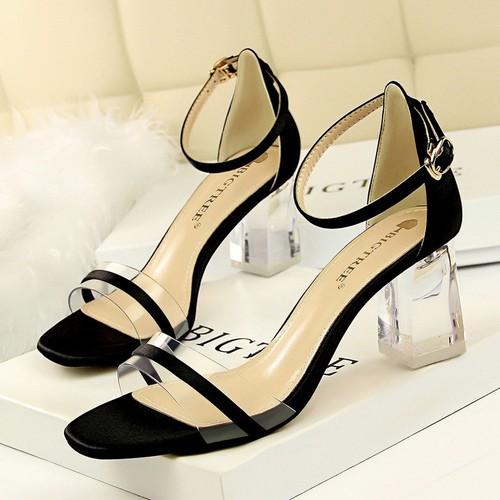 Giày cao gót giày cao gót giày cao gót giày cao gót BIGTREE chính hãng