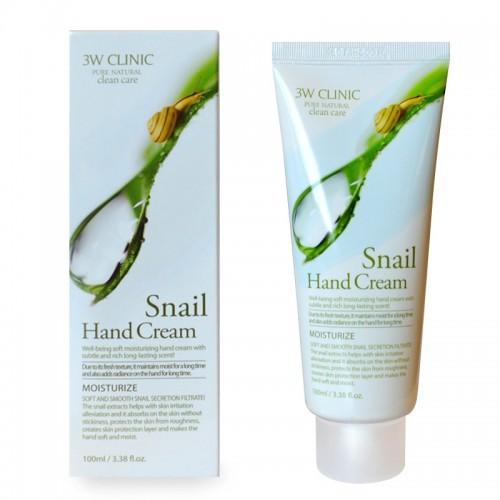 Kem Dưỡng Da tay 3W Clinic Snail Hand Cream 100ml - 6680272 , 16713114 , 15_16713114 , 50000 , Kem-Duong-Da-tay-3W-Clinic-Snail-Hand-Cream-100ml-15_16713114 , sendo.vn , Kem Dưỡng Da tay 3W Clinic Snail Hand Cream 100ml