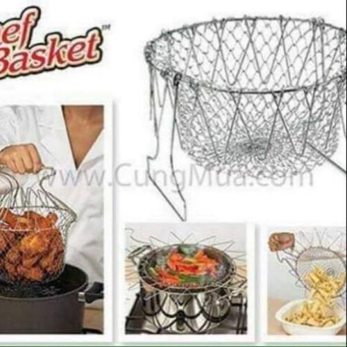 Rổ nhúng thông minh Chef Basket - 4577838 , 16712601 , 15_16712601 , 85000 , Ro-nhung-thong-minh-Chef-Basket-15_16712601 , sendo.vn , Rổ nhúng thông minh Chef Basket