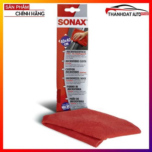 Khăn Siêu Sợi Lau Bóng Sơn Sonax Microfibre cloth 40cm x 40cm
