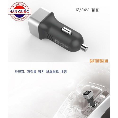 Chân sạc nhanh đôi 3.0A Zingalo Korea DL-928S