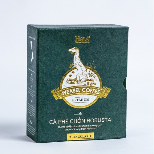 Cà phê Premium Weasel Coffee Robusta 120g Cà phê chồn Robusta 100 phần trăm - 6680115 , 16712890 , 15_16712890 , 404800 , Ca-phe-Premium-Weasel-Coffee-Robusta-120g-Ca-phe-chon-Robusta-100-phan-tram-15_16712890 , sendo.vn , Cà phê Premium Weasel Coffee Robusta 120g Cà phê chồn Robusta 100 phần trăm