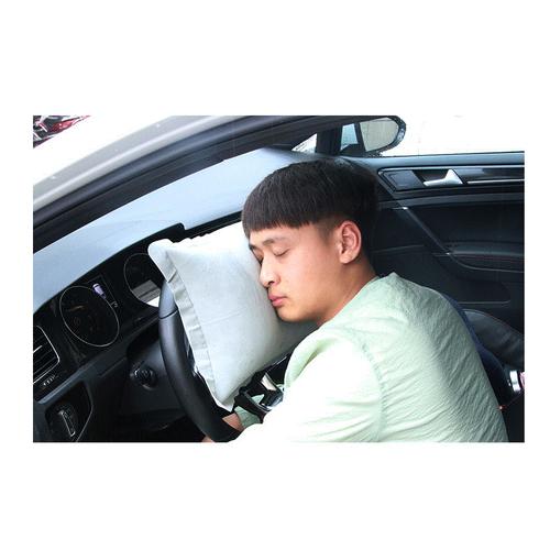Gối bơm hơi đa chức năng - Bestcar - 45x25x15cm - Màu ngẫu nhiên