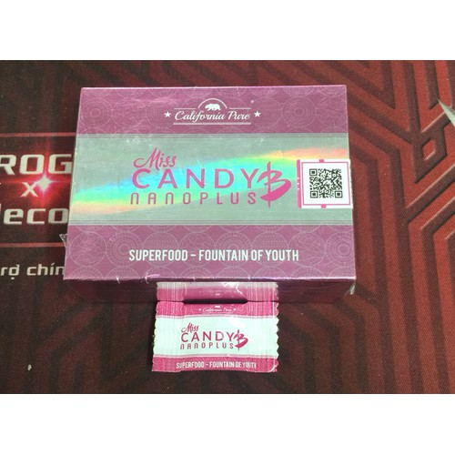 Kẹo sâm Miss Candy B - hộp 8viên