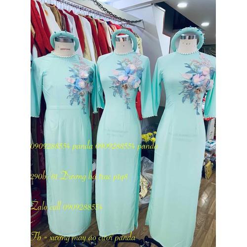 áo dai nữ bưng quả xanh ngọc kèm mấn co sẵn - 6692532 , 16722482 , 15_16722482 , 380000 , ao-dai-nu-bung-qua-xanh-ngoc-kem-man-co-san-15_16722482 , sendo.vn , áo dai nữ bưng quả xanh ngọc kèm mấn co sẵn