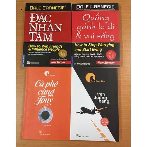 Combo 4 cuốn sách kỹ năng