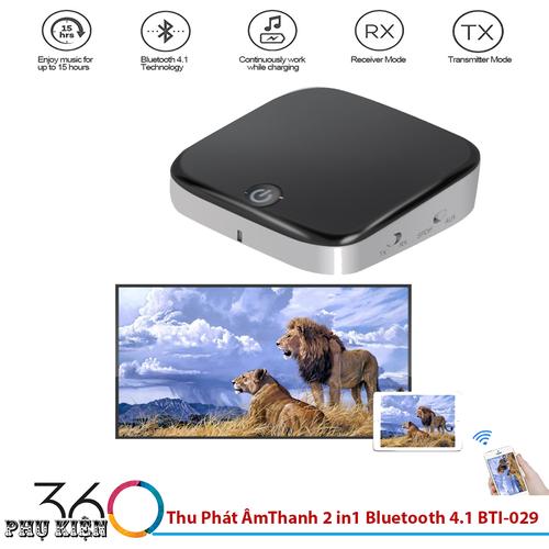 Bộ Thu Phát Âm Thanh 2 trong 1 Bluetooth 4.1 BTI-029