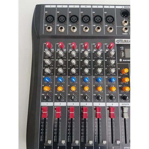 mixer yamaha 6 line có bluetooth-mixer 6 line